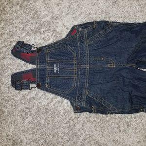 Baby boy jean overalls